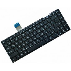 Клавиатура для ноутбука Asus X401E, X401U, X401A RU, Black, Without Frame (AEXJ1Q02010)