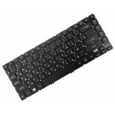 Клавиатура для ноутбука Acer Aspire V5-472, V5-473, V7-481, V7-482 TravelMate P446-M, P645-M RU, Black, Without Frame (AEZQK700010)