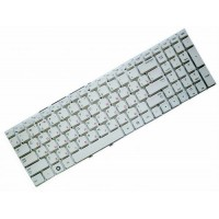 Клавиатура для ноутбука Samsung NP300E5A, NP300V5A RU, White, Without Frame (CNBA5903113CBIH)