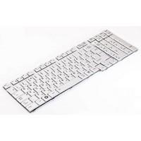 Клавиатура для ноутбука Toshiba Satellite A500, A505, F501, L350, L355, L500, L505, L583, L586, P500, P505 RU, Silver (KFRSBJ206A)