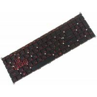Клавиатура для ноутбука Acer Nitro 5 Spin NP515-51 RU, Black, Without Frame, Backlight (NK.I1513.08Y)