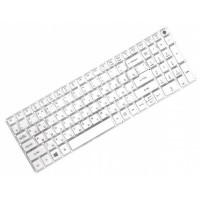 Клавиатура для ноутбука Acer Aspire E5-522, E5-573 RU, White, Without Frame (NK.I1517.007)