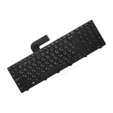Клавиатура для ноутбука Dell Inspiron N7110, N5720, N7720, Vostro 3750, XPS 17 L702x RU, Black Frame, Black, Backlight (NSK-DZ0BQ 0R)