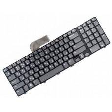 Клавиатура для ноутбука Dell Inspiron N7110, N5720, N7720, Vostro 3750, XPS 17 L702x RU, Black Frame, Gray, Backlight (NSK-DZ0BQ 0R)