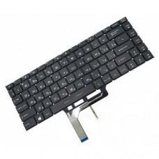 Клавиатура для ноутбука MSI GS65 RU, Black, Backlight (NSK-FDABN0R)