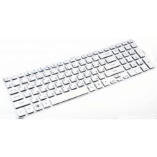 Клавиатура для ноутбука Acer Aspire 5943G, 5943, 5950G, 5950, 8943G,8943, 8950G, 8950 RU,Silver (PK130C31004)