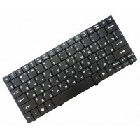 Клавиатура для ноутбука Acer Aspire 1410, 01810, 01830 One 721, 751 Ferrari One 200, Gateway EC14, LT31 RU, Black (PK130I23A04)