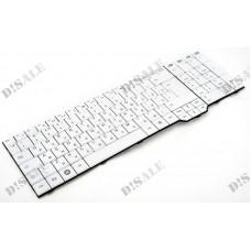 Клавиатура для ноутбука Fujitsu Amilo XA3520, XA3530, PI3625, LI3910, XI3650 RU, White (V080329BK4)