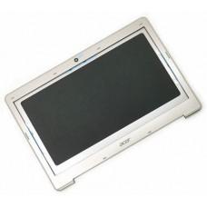 Крышка экрана в сборе для ноутбука Acer Aspire S3-391, S3-951 gray