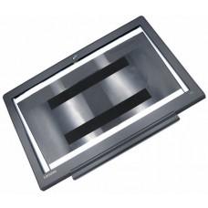Крышка экрана в сборе для ноутбука Lenovo IdeaPad 700-15ISK black