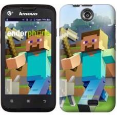 Чехол для Lenovo A300 Minecraft 4 2944u-229