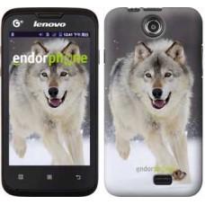 Чехол для Lenovo A300 Бегущий волк 826u-229