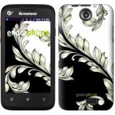 Чехол для Lenovo A300 White and black 1 2805u-229