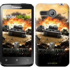 Чехол для Lenovo A316 World of tanks v1 834u-199