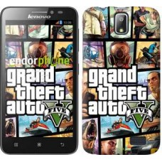 Чехол для Lenovo A328 GTA 5. Collage 630u-230