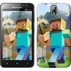 Чехол для Lenovo A328 Minecraft 4 2944u-230