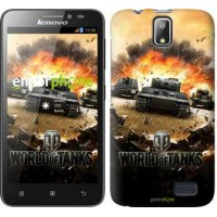 Чехол для Lenovo A328 World of tanks v1 834u-230