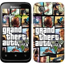 Чехол для Lenovo A398t GTA 5. Collage 630u-436