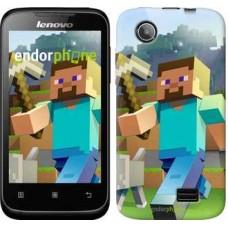 Чехол для Lenovo A369i Minecraft 4 2944u-291