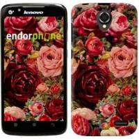 Чехол для Lenovo A388t Цветущие розы 2701u-285
