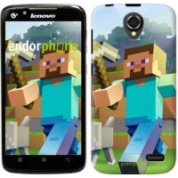 Чехол для Lenovo A388t Minecraft 4 2944u-285