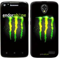 Чехол для Lenovo A388t Monster energy 821u-285