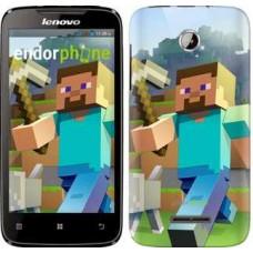 Чехол для Lenovo A390 Minecraft 4 2944u-948