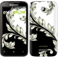 Чехол для Lenovo A390 White and black 1 2805u-948