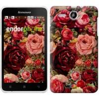 Чехол для Lenovo A529 Цветущие розы 2701u-200