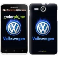 Чехол для Lenovo A529 Volkswagen. Fire logo 3141u-200