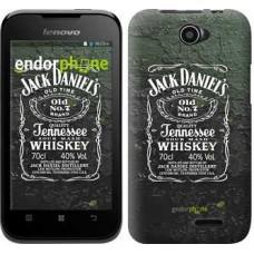 Чехол для Lenovo A66 Whiskey Jack Daniels 822u-290