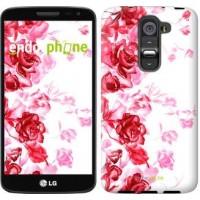 Чехол для LG G2 mini D618 Нарисованные розы 724u-304