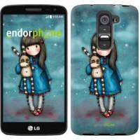 Чехол для LG G2 mini D618 Девочка с зайчиком 915u-304