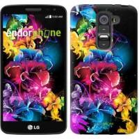 Чехол для LG G2 mini D618 Абстрактные цветы 511u-304