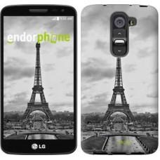 Чехол для LG G2 mini D618 Чёрно-белая Эйфелева башня 842u-304