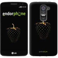 Чехол для LG G2 mini D618 Черная клубника 3585u-304