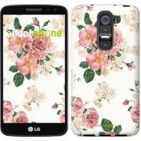 Чехол для LG G2 mini D618 цветочные обои v1 2293u-304