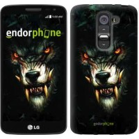 Чехол для LG G2 mini D618 Дьявольский волк 833u-304