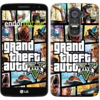 Чехол для LG G2 mini D618 GTA 5. Collage 630u-304