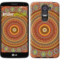 Чехол для LG G2 mini D618 Индийский узор 2860u-304