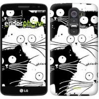 Чехол для LG G2 mini D618 Коты v2 3565u-304