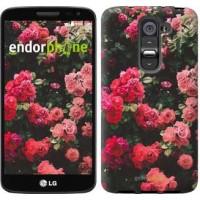 Чехол для LG G2 mini D618 Куст с розами 2729u-304