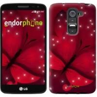 Чехол для LG G2 mini D618 Лунная бабочка 1663u-304