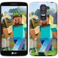 Чехол для LG G2 mini D618 Minecraft 4 2944u-304