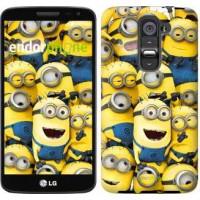 Чехол для LG G2 mini D618 Миньоны 8 860u-304