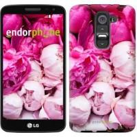 Чехол для LG G2 mini D618 Розовые пионы 2747u-304