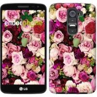 Чехол для LG G2 mini D618 Розы и пионы 2875u-304