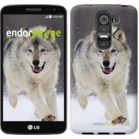 Чехол для LG G2 mini D618 Бегущий волк 826u-304