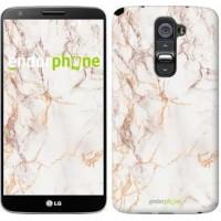 Чехол для LG G2 Белый мрамор 3847u-37