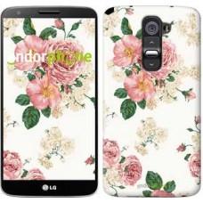 Чехол для LG G2 цветочные обои v1 2293u-37